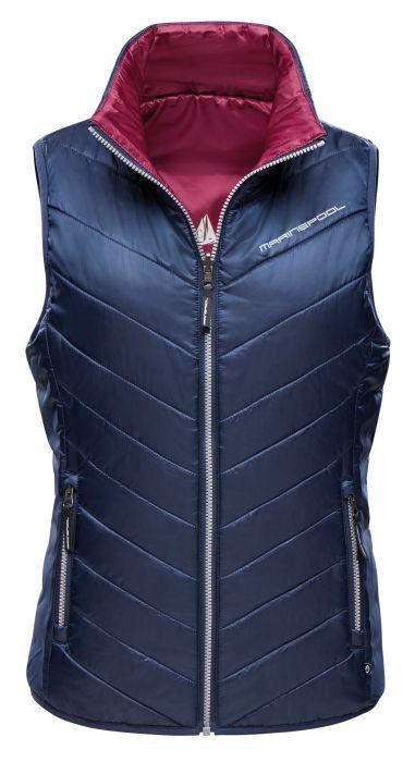 Ariel Reversible Quilted Vest Women
