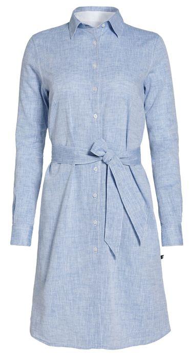 Mali Linen Shirt Dress