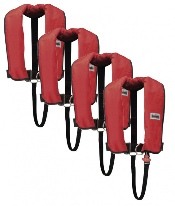 150N Classic ISO Lifejacket LB HR set of 4