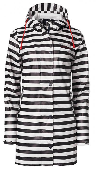 Anika Striped Raincoat Women