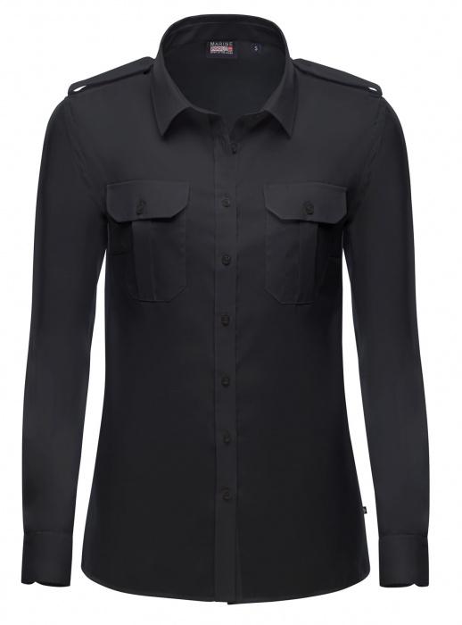 Captain Noniron Shirt Women Long Sleeve