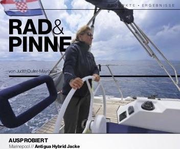AUSPROBIERT VON YACHT REVUE 07/20 - Marinepool Antigua Hybrid Jacke