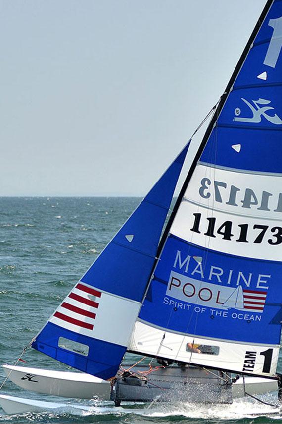 Marinepool boat